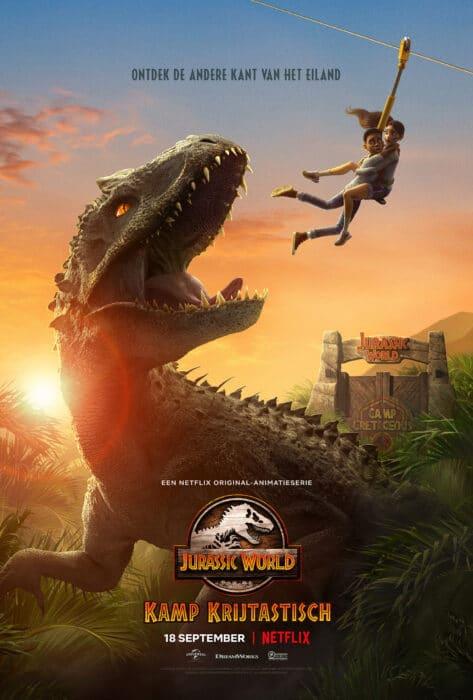 Jurassic World camp creteous