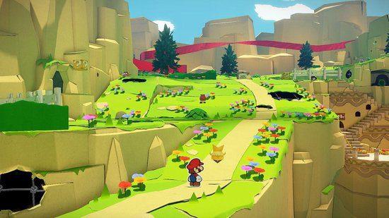 Paper Mario The Origami King Switch screenshot
