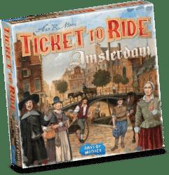 Ticket to Ride Amsterdam packshot