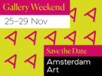 amsterdan art gallery weekend