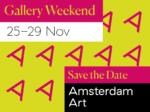 amsterdan art gallery weekend