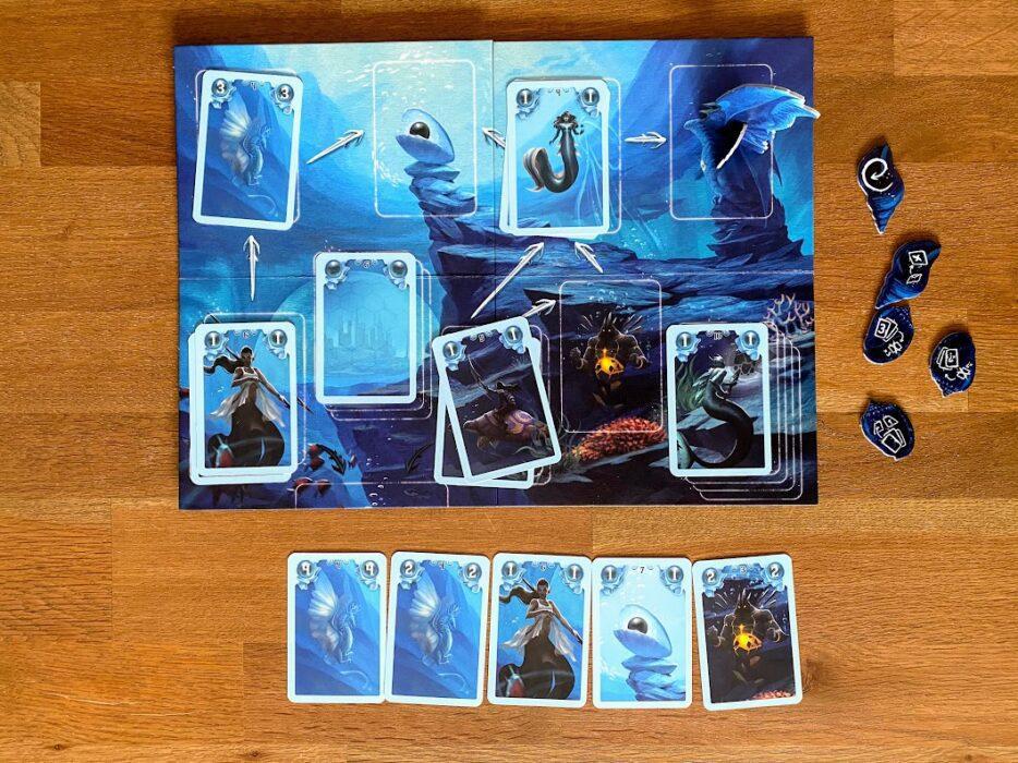 drakenstad spelbord en kaarten