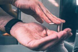 hygiene handen wassen