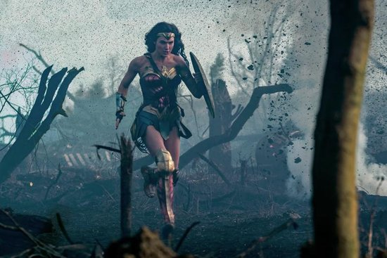 DC Comics 7 movie Collection Wonderwoman