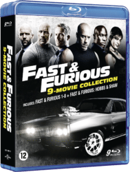 Fast Furious 9 film collectie