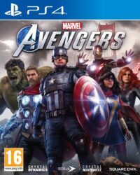 avengers ps4 packshot
