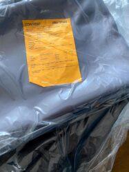 gordijnen in verpakking