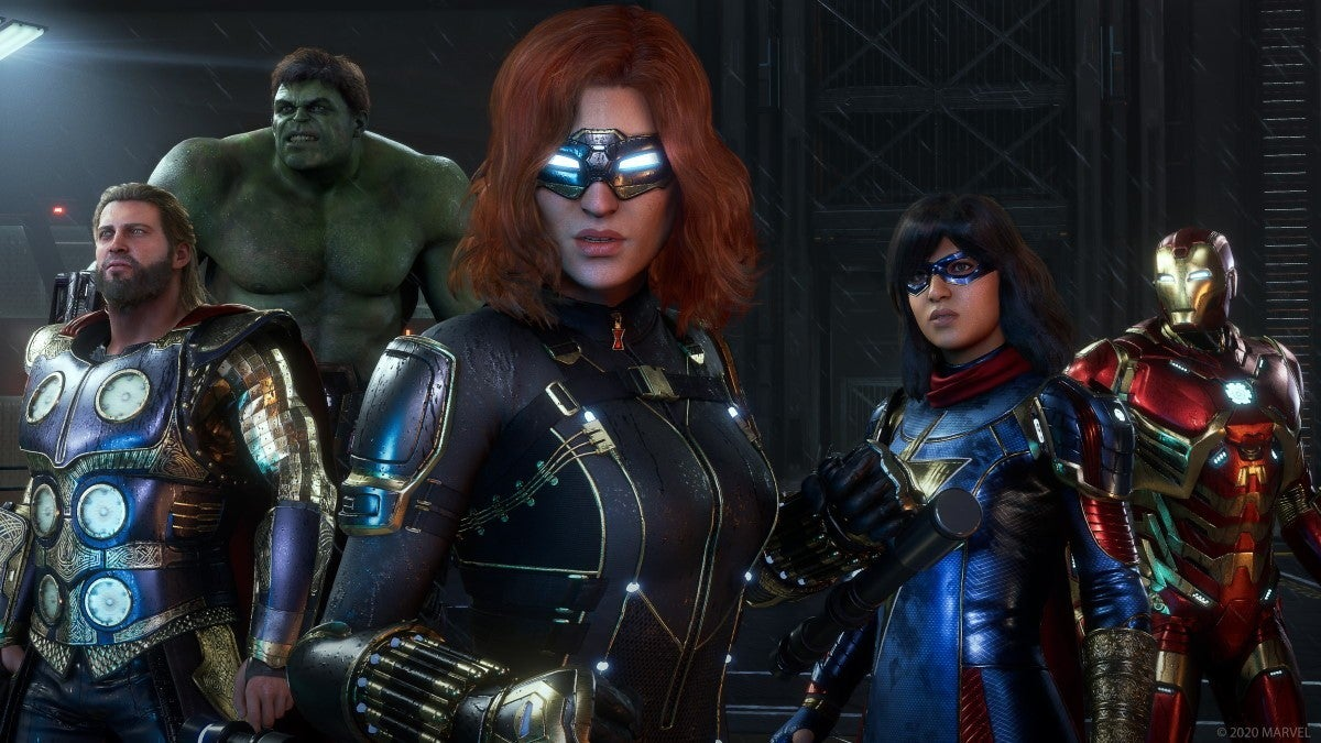 marvel avengers screenshot 2
