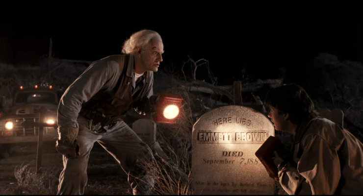 Back to the Future Part III Opening Scene in 4K Ultra HD Doc Brown Sees His Own Grave 8 52 screenshot 740x400 1