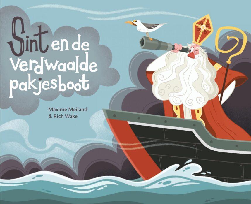 Sint en de verdwaalde pakjesboot Maxime Meiland