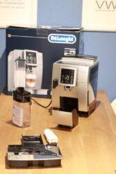 delonghi espressomachine unboxing
