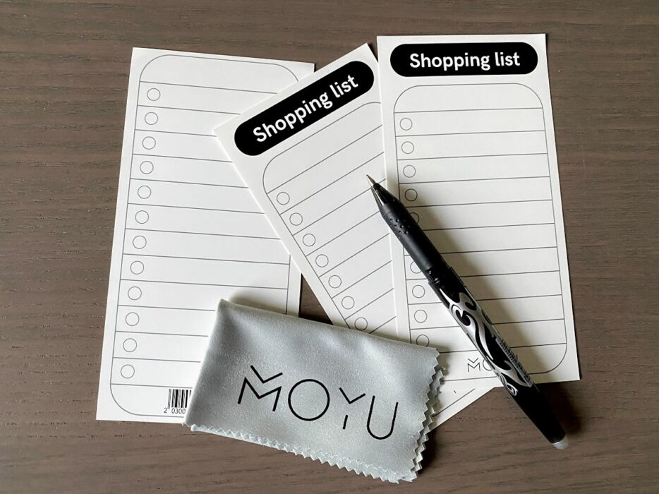 moyu rocks shopping list