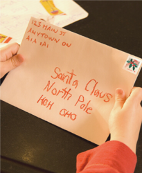 brievenbus kerstman canada