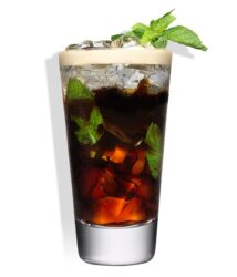 cocktail koffie tia maria mint americano