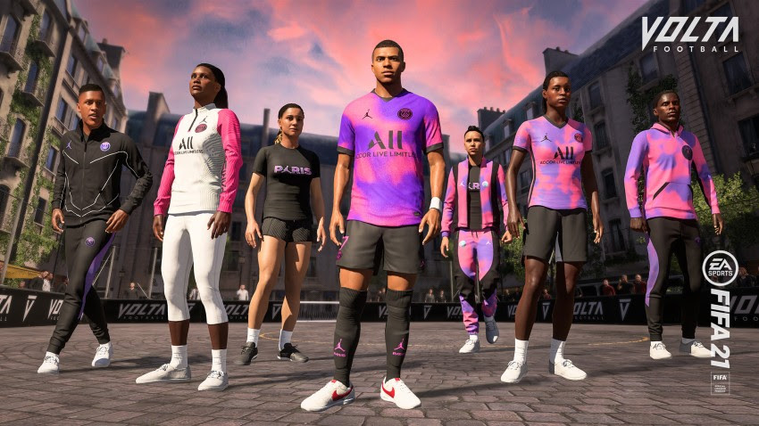 FIFA 21 PSG 4th Kit Reveal