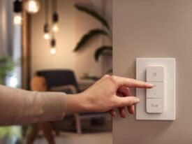 new philips hue dimmer switch lifestyle shot 1