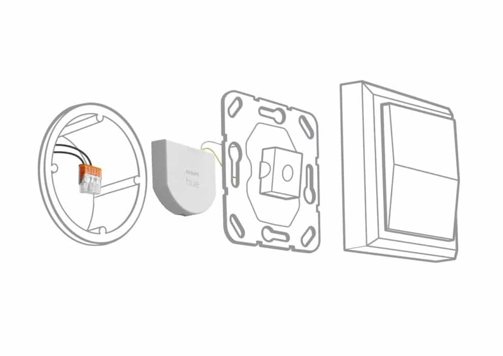 philips hue wall switch module explanation