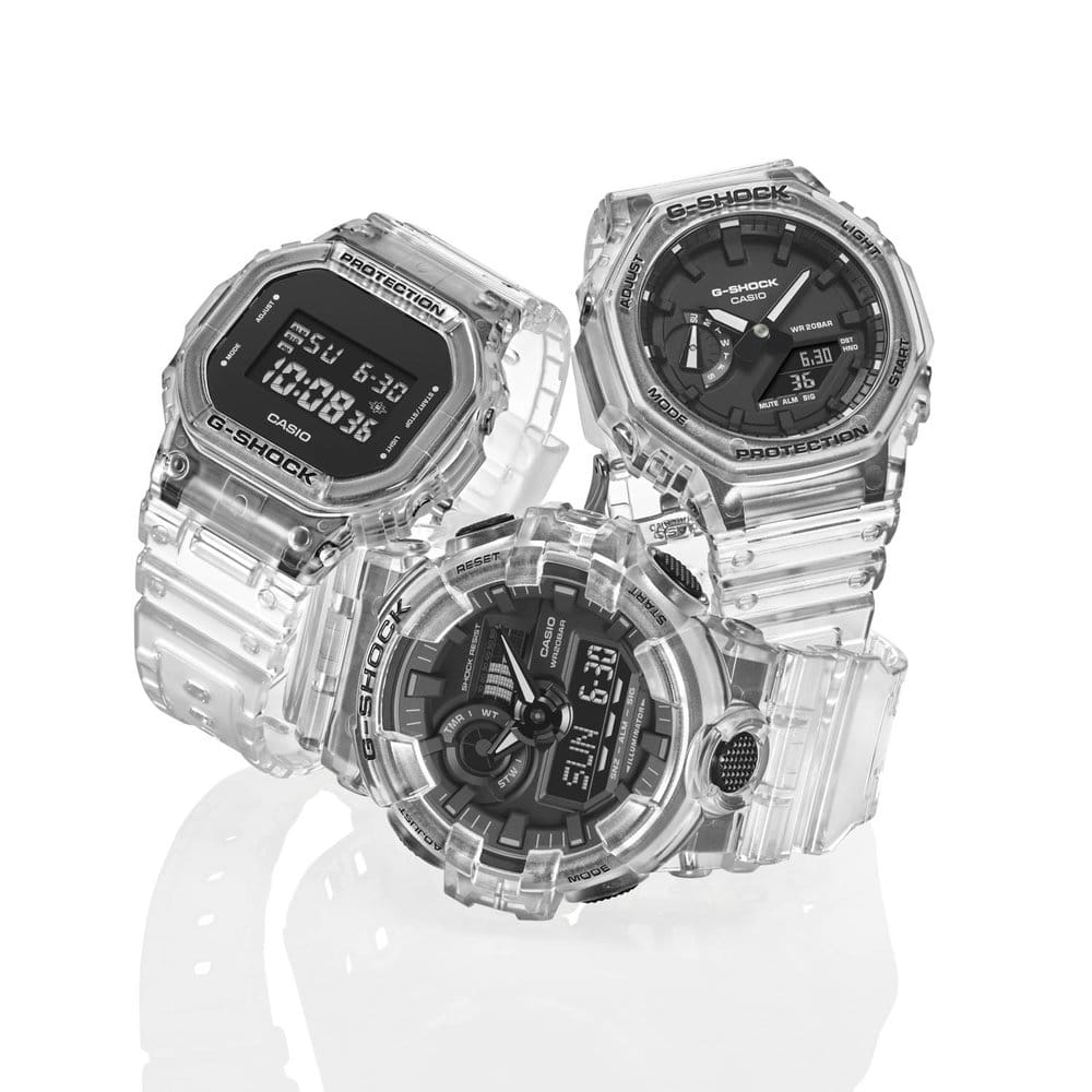 Casio Skeleton series G Shock 1