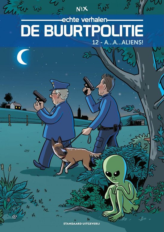 De Buurtpolitie 12 - A...A... Aliens!