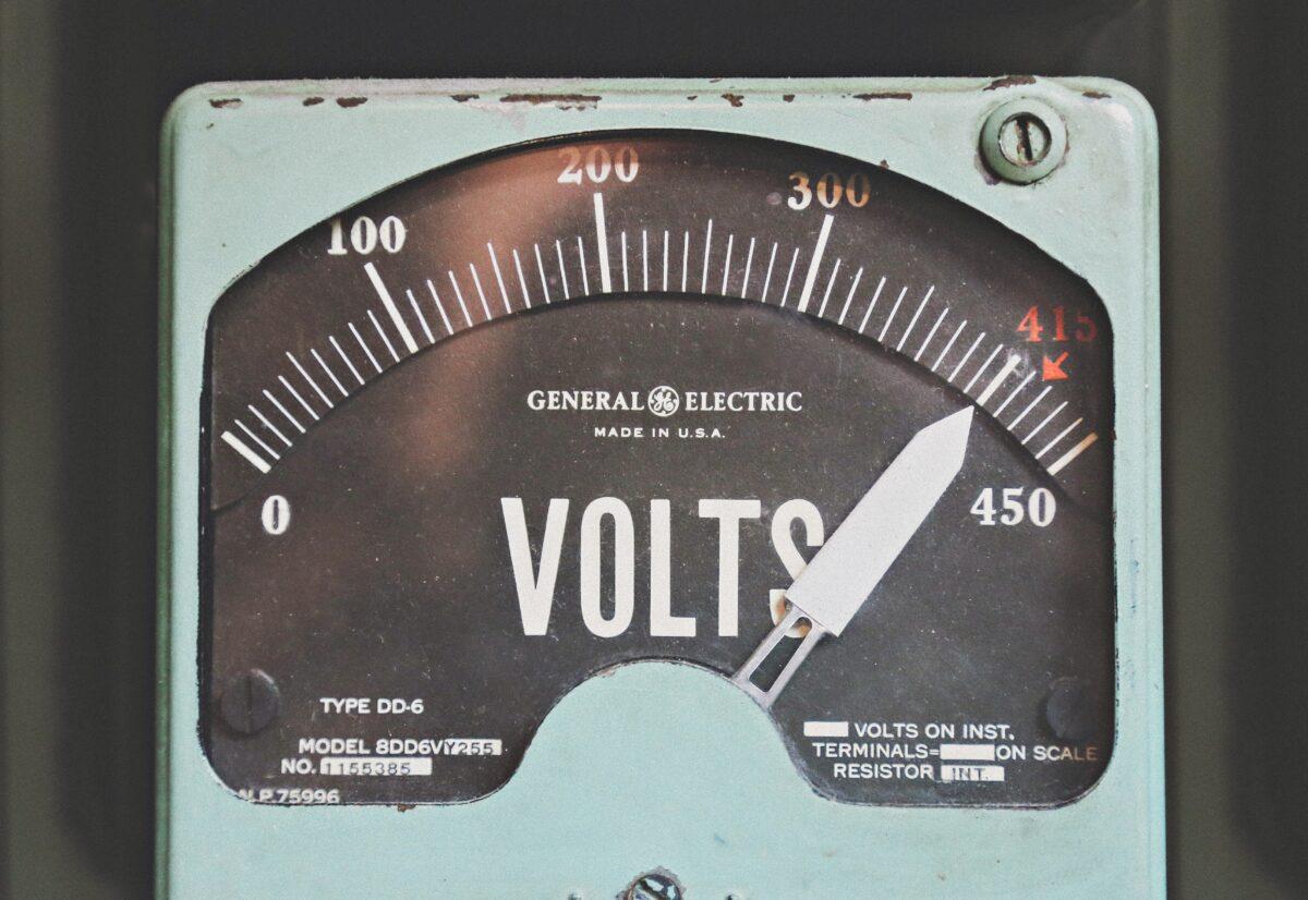 energie voltmeter