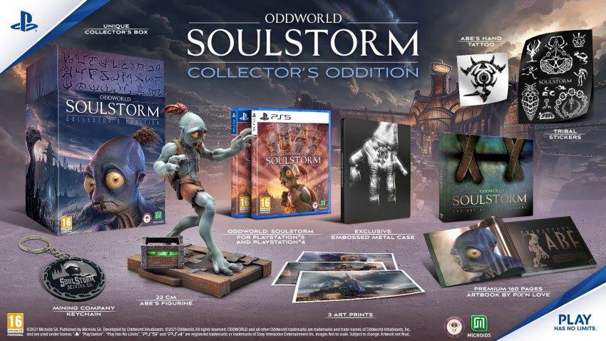 Collectors Oddition Oddworld Soulstorm