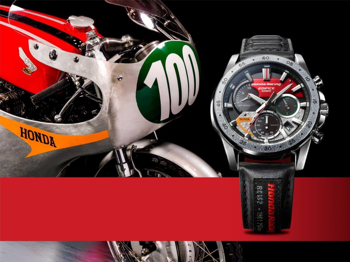 EDIFICE Honda Racing horloge