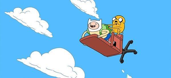 Finn en Jakes waanzinnige reis