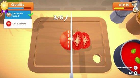 My Universe Cooking Star Restaurant minigame