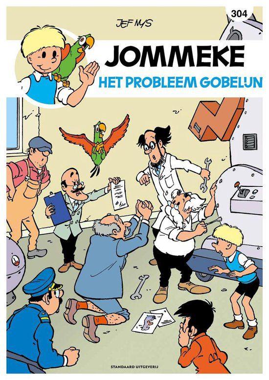 Jommeke 304: Het probleem Gobelijn