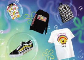 Vans Nickelodeon sponge bob squarepants collectie