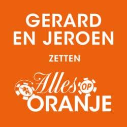 Alles op oranje