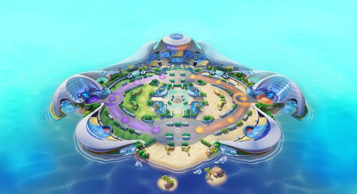 Pokemon unite eiland Aeos