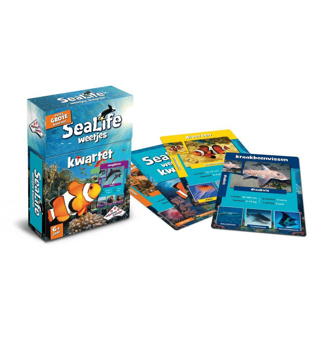 Sealife Kwartet Uitstalling