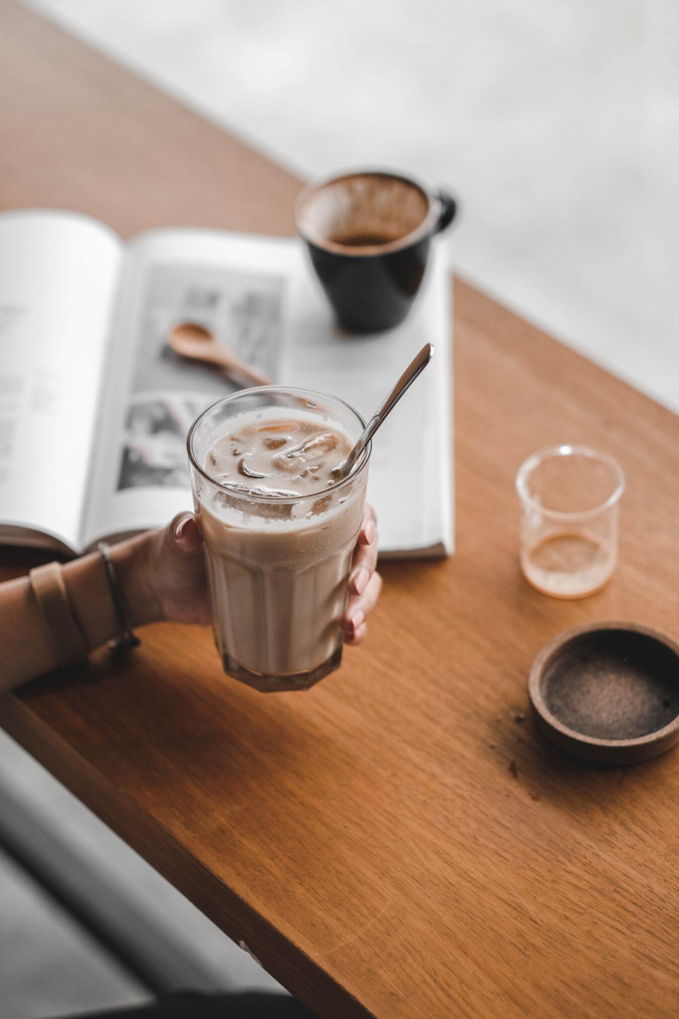 Latte IJskoffie