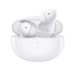 Oppo Enco Free2 White ear fly 1