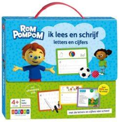 Rompompom ik lees en schrijf letters en cijfers