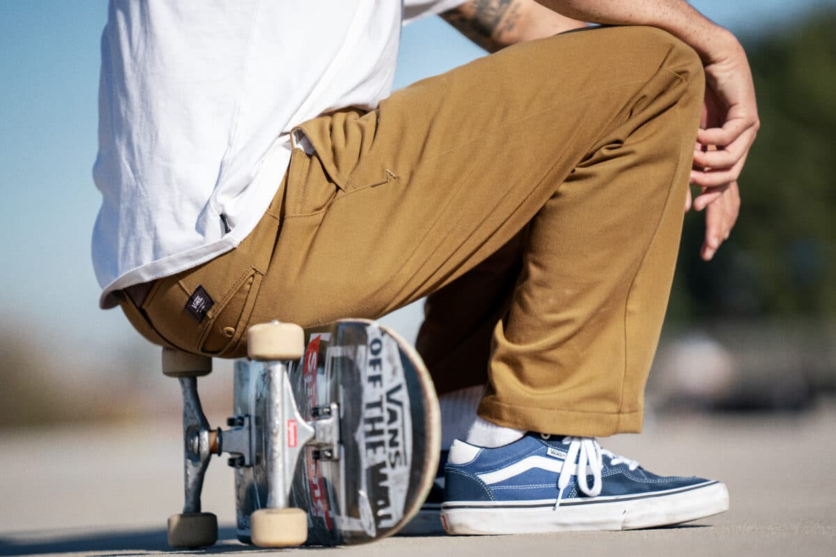 Vans Authentic Chino skate relaxed fit 35