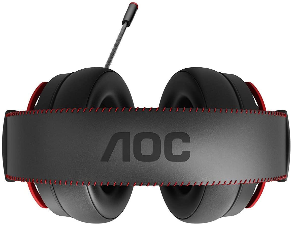 aoc gh300 headset bovenaanzicht