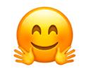emoji knuffelen