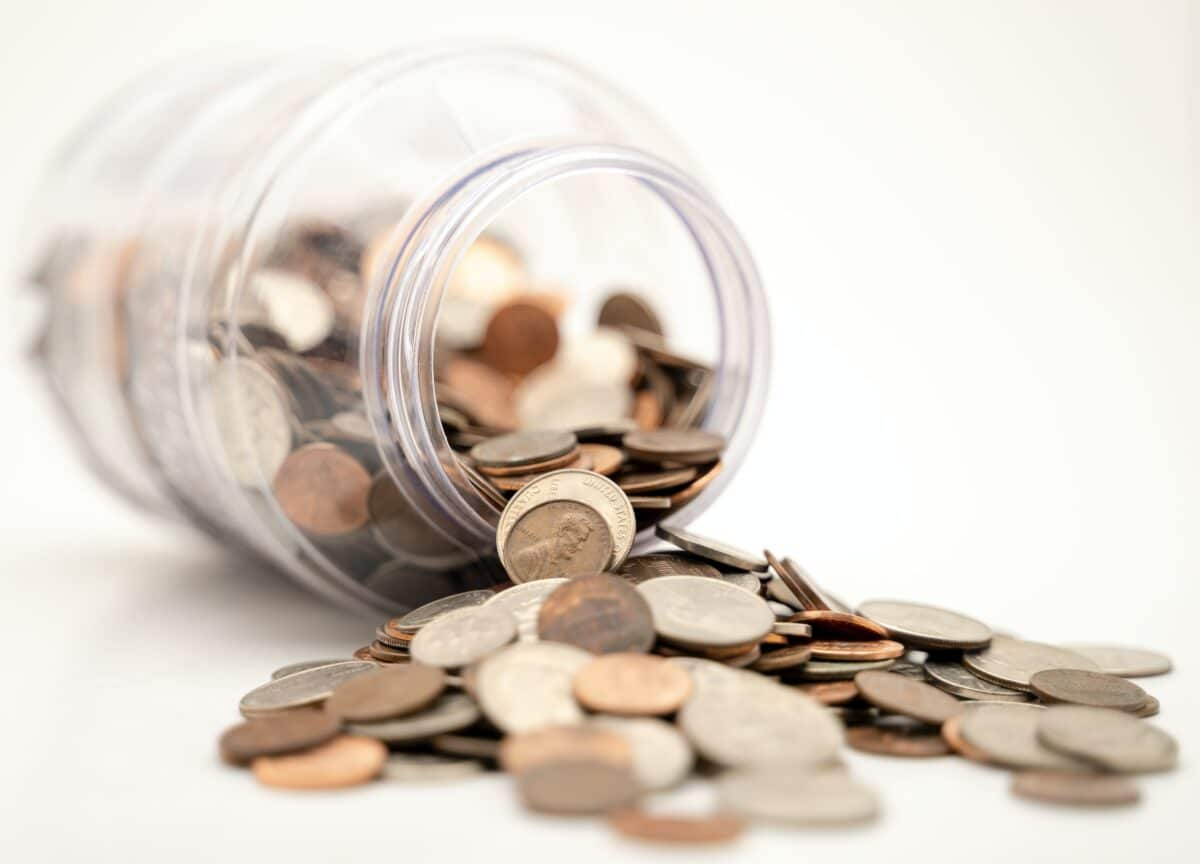 geld pot kleingeld