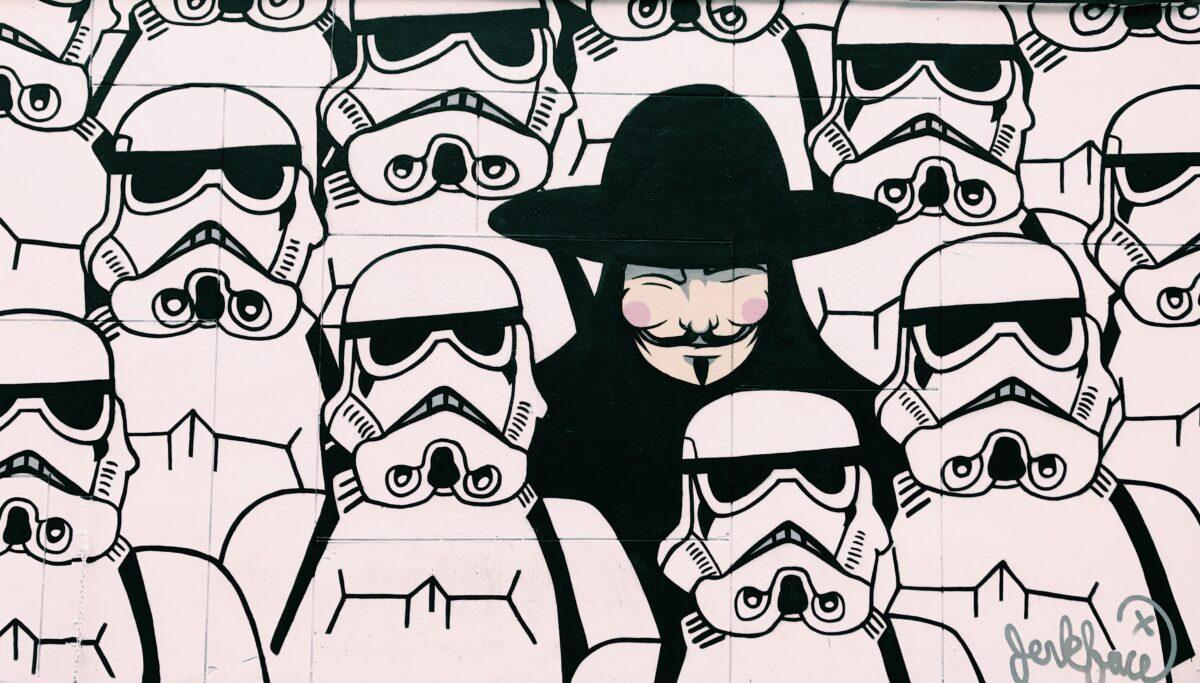 streetart kunst banksy stormtroopers
