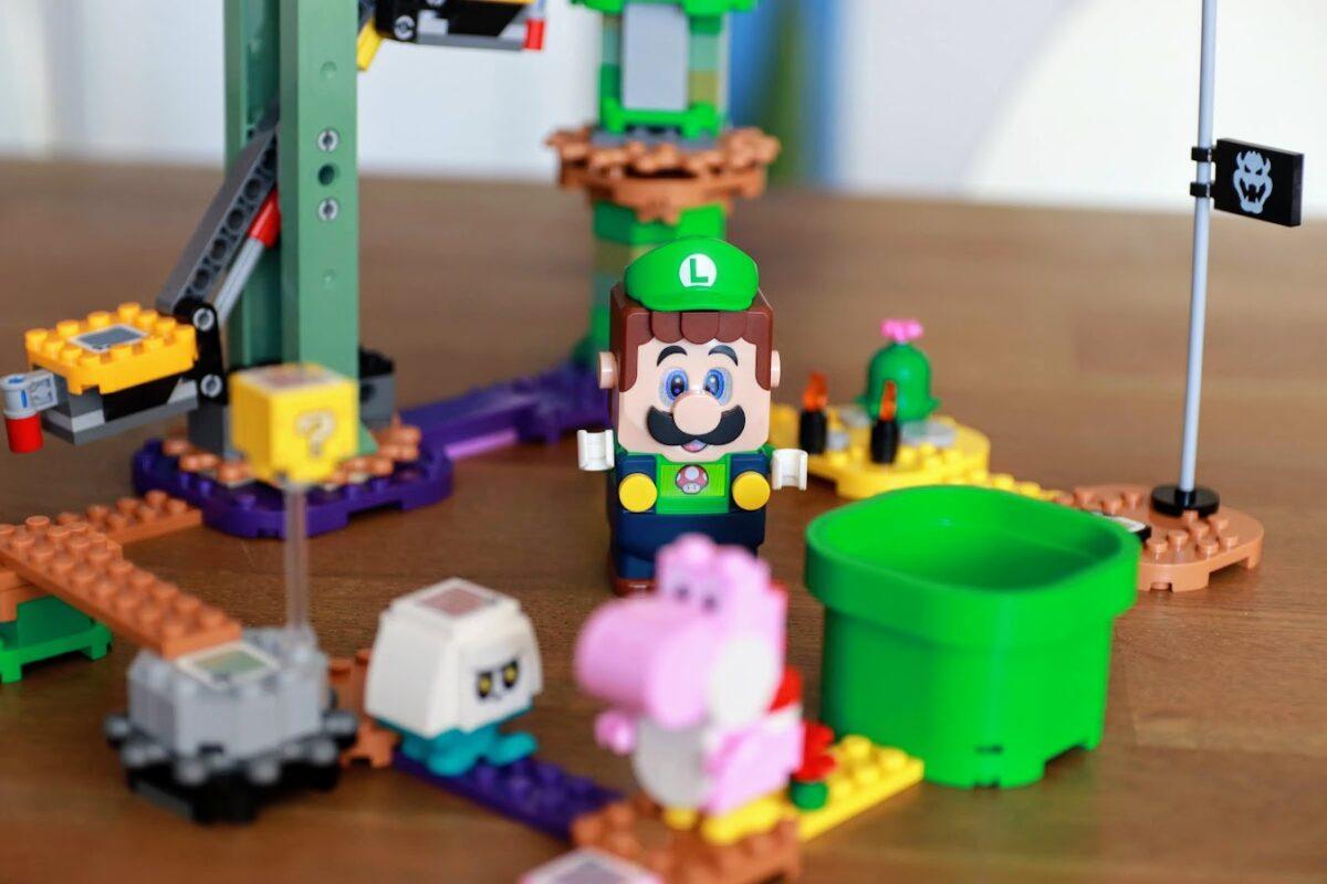 LEGO Super Mario Luigi recensie 4