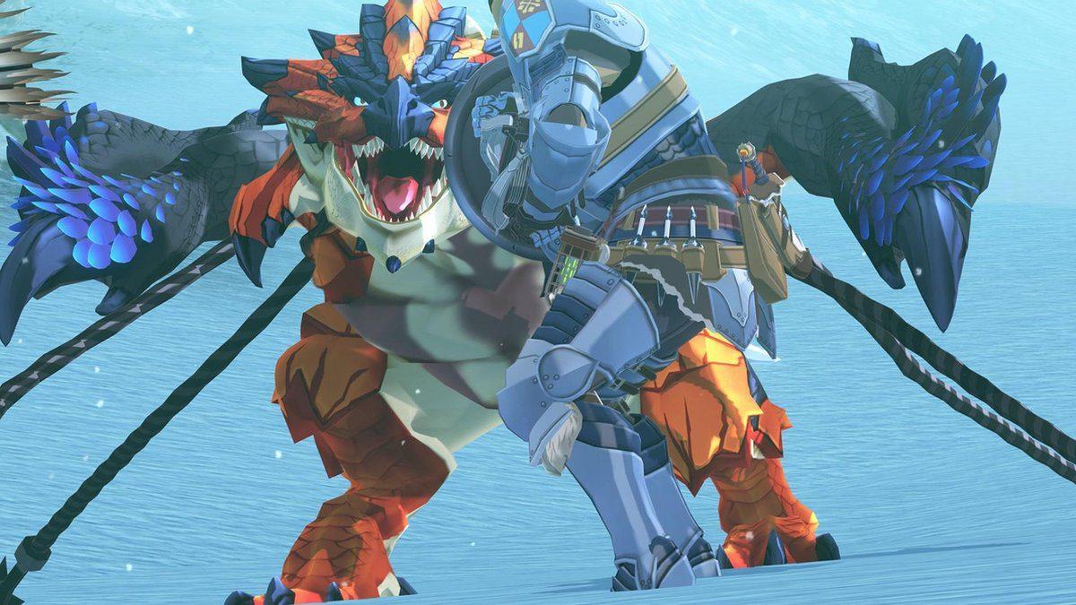 Monster Hunter Stories 2 Wings of Ruin Switch screenshot