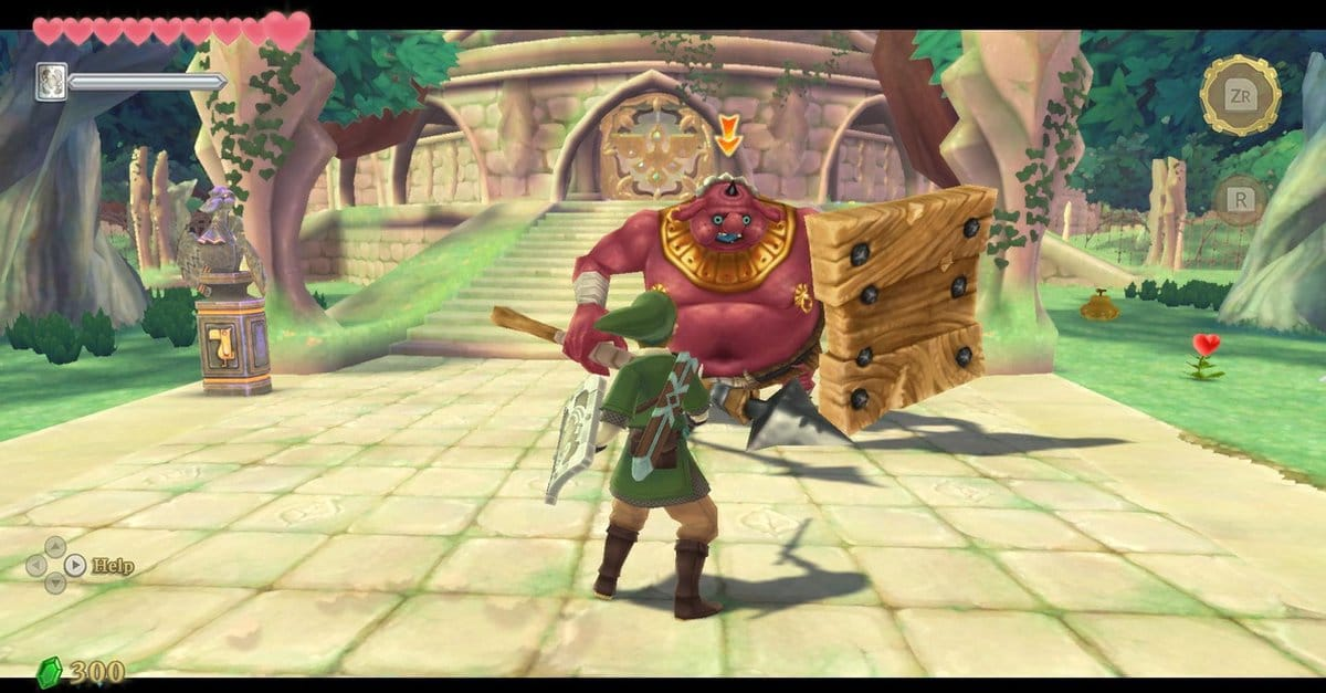 The Legend of Zelda Skyward Sword HD Switch screenshot