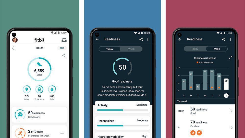 fitbit nieuwe functie daily readiness