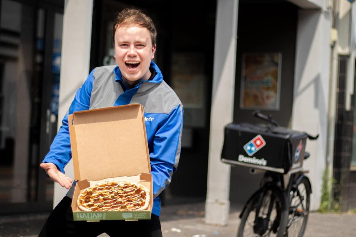 frikan dutchman pizza Dominos