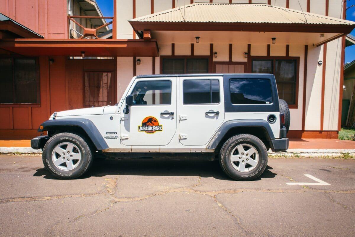 jurassic park voertuig