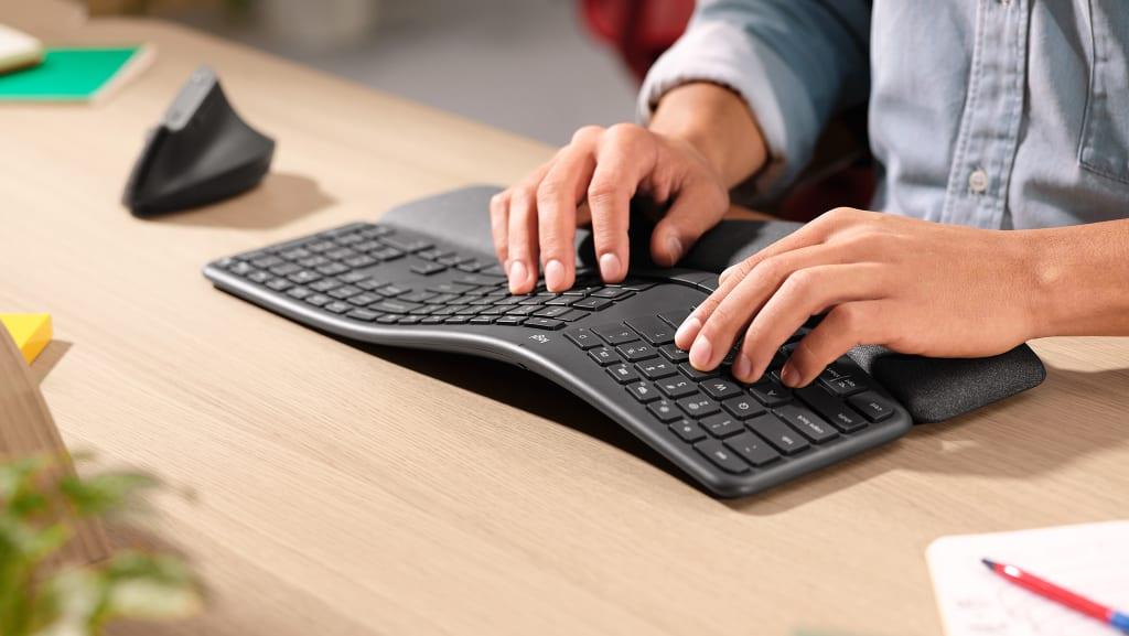 logitech k860 ergo keyboard