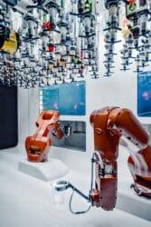 robot fabriek