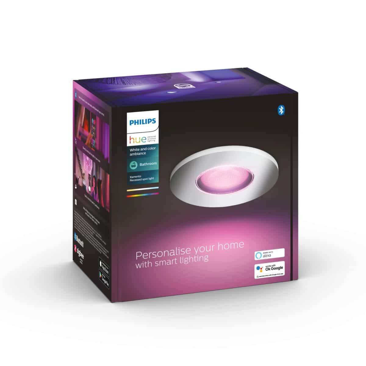 Philips Hue Xamento recessed spots product